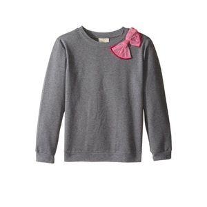 ♠️kate spade Girls Bow Detail Sweatshirt  NWOT!
